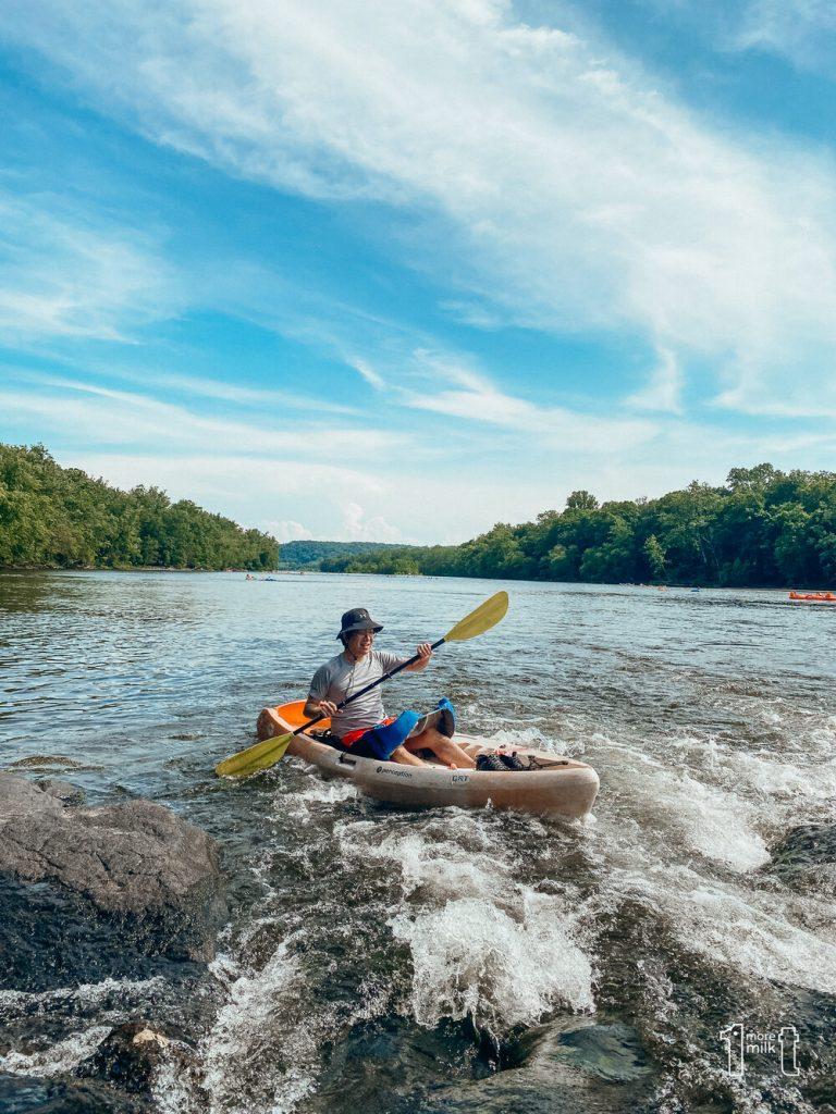 Delaware River rafting